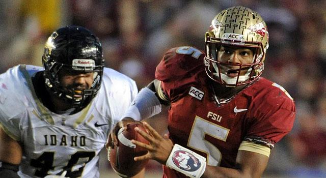 Jameis Winston and Florida State take on Florida this weekend. (USATSI)