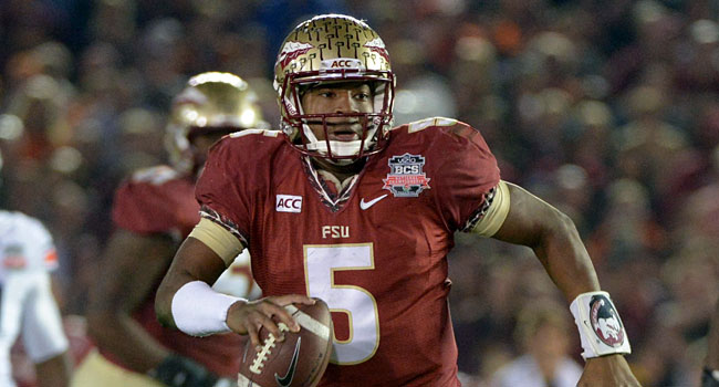 Jameis Winston and Florida State are favored to make the college football playoff. (USATSI)
