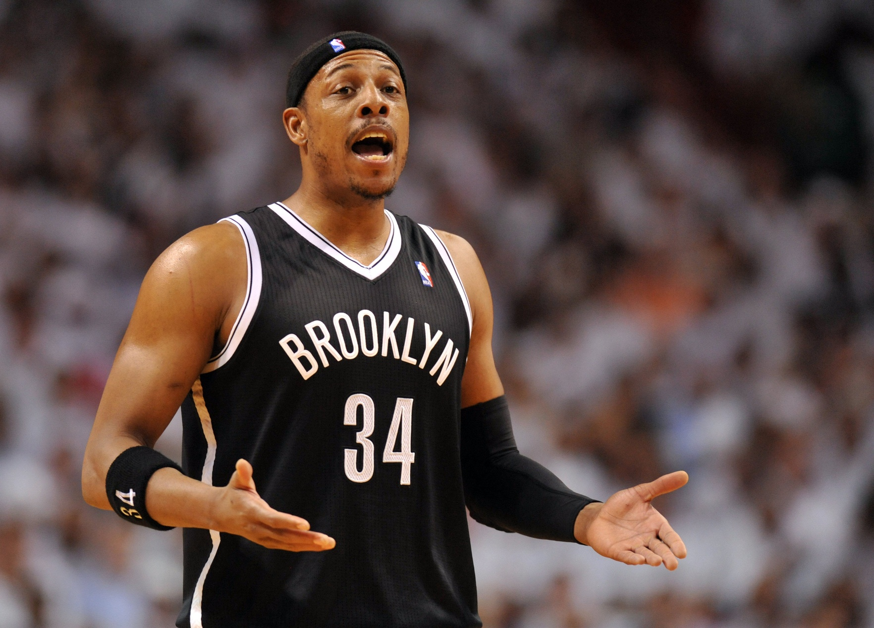 Paul Pierce is headed to Washington.  (USATSI)