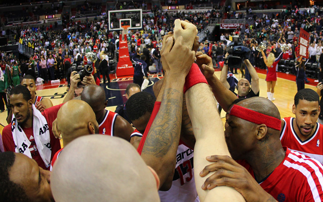 The Wizards are back in the playoffs. (USATSI)