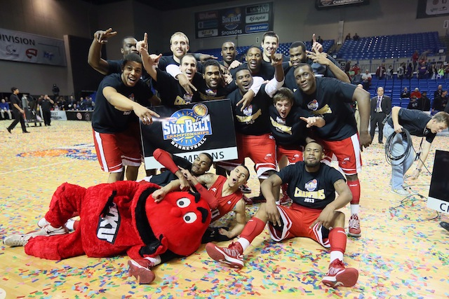 After winning the Sun Belt as a No. 7 seed last season, Western Kentucky did it as a No. 6 this year. (USATSI)