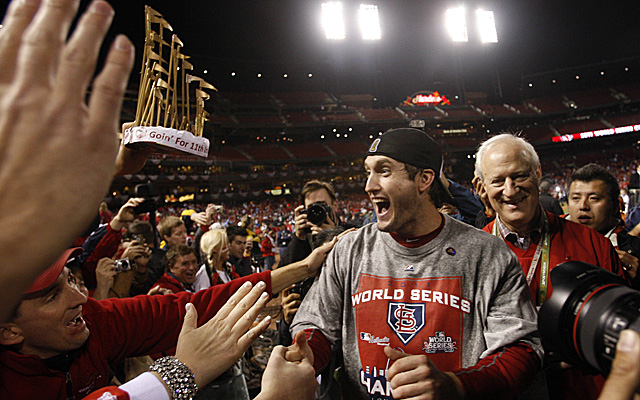 David Freese's 2011 heriocs go down in Fall Classic history.