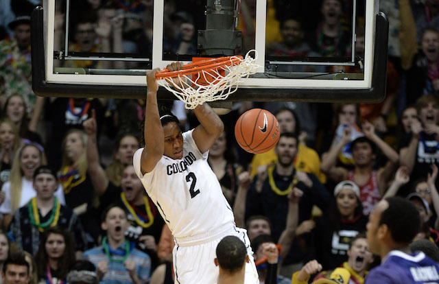 Xavier Johnson has been a go=to-guy for Colorado without Spencer Dinwiddie. (USATSI)