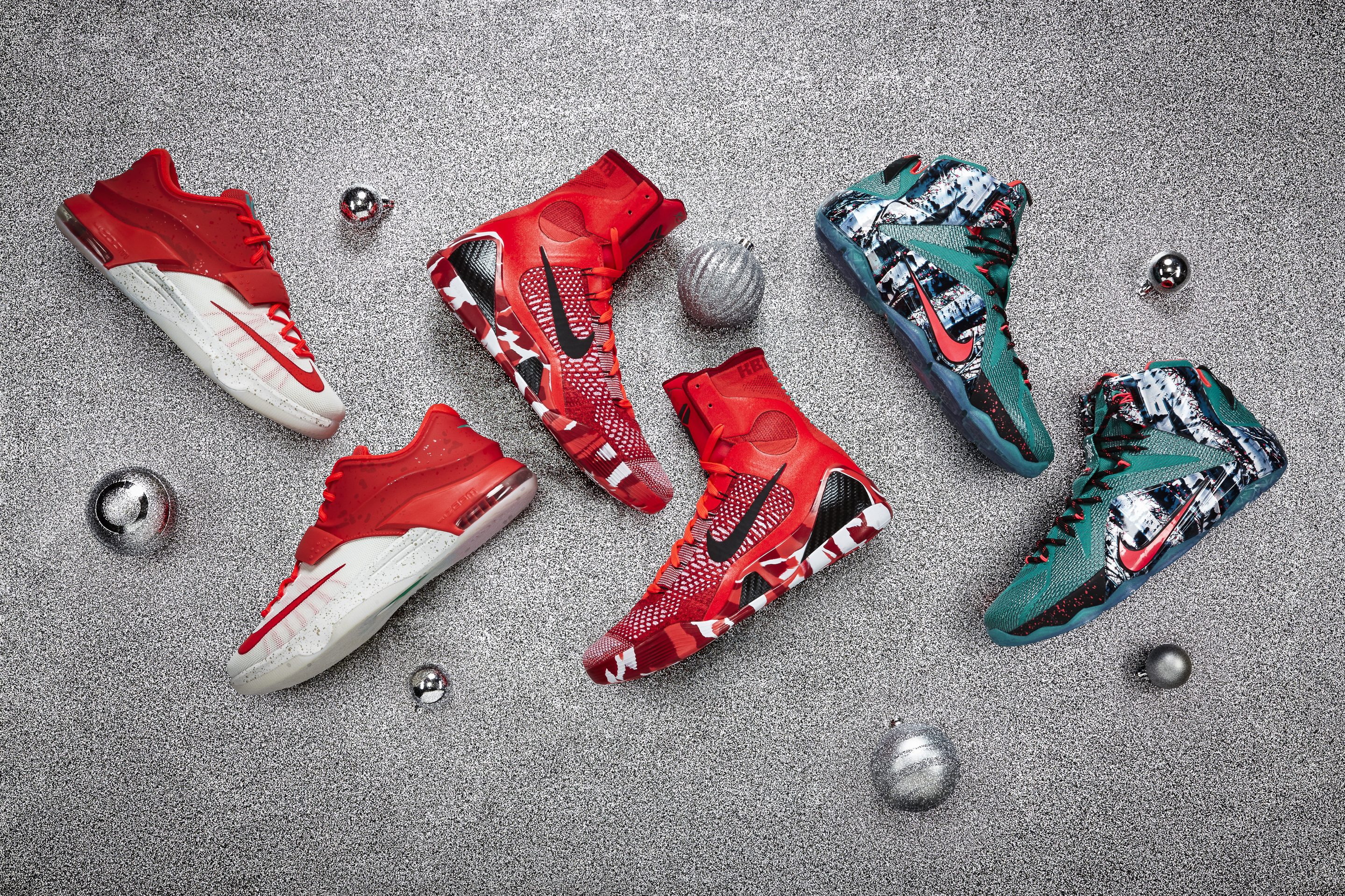 PHOTOS: Nike Christmas kicks for LeBron, Kobe, KD - CBSSports.com