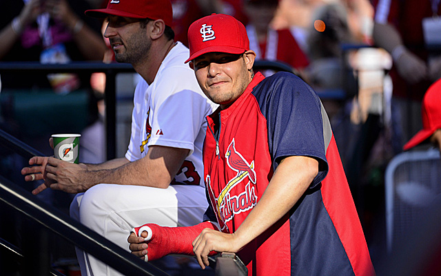 Yadier Molina is ready to start taking some swings.