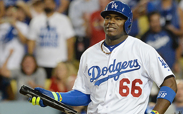 Yasiel Puig had to go through a lot in order to sign with the Dodgers.
