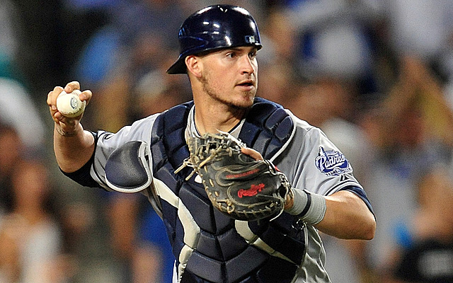 Yasmani Grandal will re-join the Padres Tuesday.