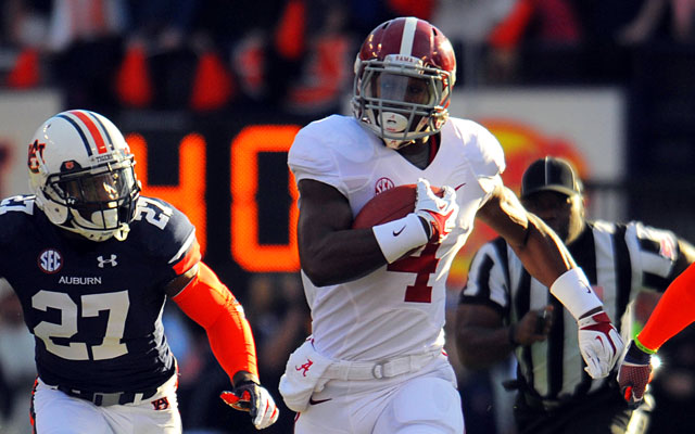 With the return of T.J. Yeldon, Alabama is No. 1 in Dennis Dodd's rankings. (USATSI)