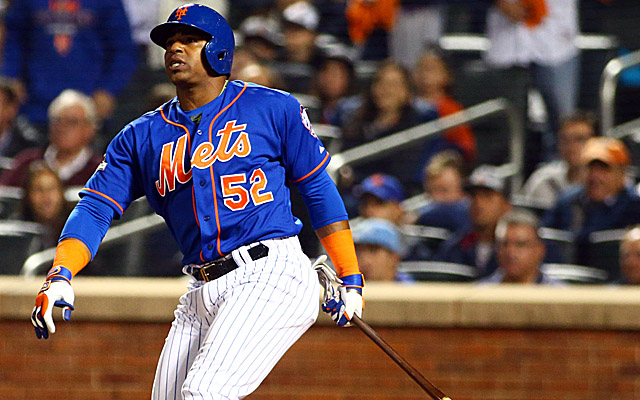 Yoenis Cespedes is staying in Queens.