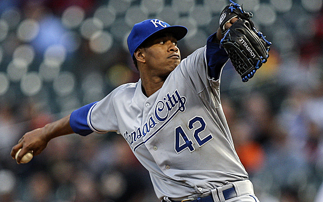 Yordano Ventura continues to take steps toward being one of the game's best.