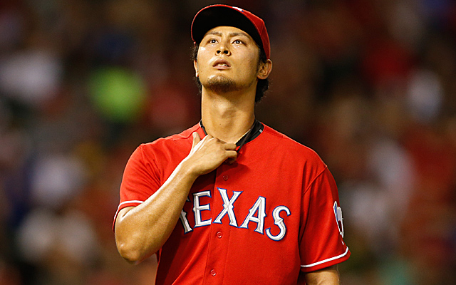 Yu Darvish took another hard-luck loss Monday night.