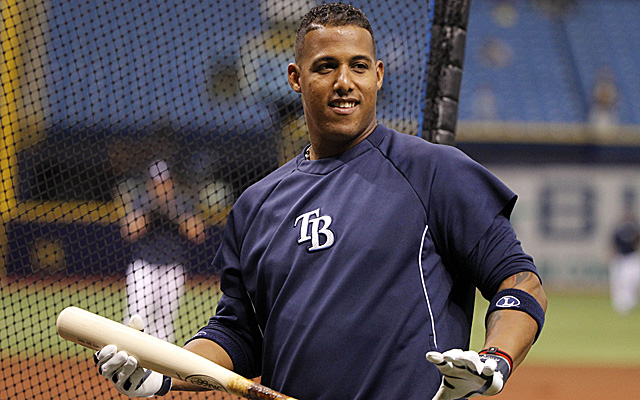 Yunel Escobar has signed an extension with the Rays.