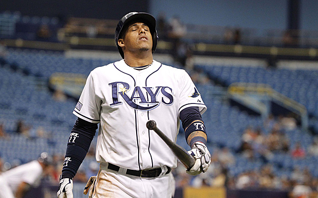 Yunel Escobar has been placed on the disabled list.
