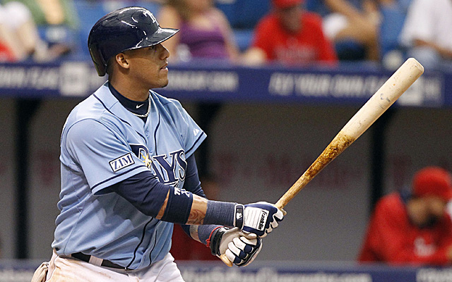 Yunel Escobar will remain with the Rays.
