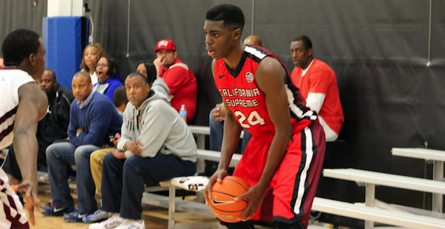 Zylan Cheatham's athleticism makes him one of the more exciting players on the AAU circuit. (247Sports)