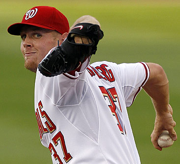 Strasburg's stellar debut has everyone tuning in.