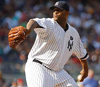 CC Sabathia shakes off an early home run to collect the win, the 150th of his career. (Getty Images)