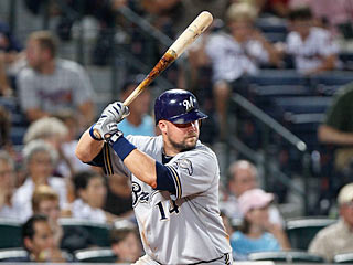 Casey McGehee goes 4 for 4 and sets club record with his ninth straight hit. (Getty Images)