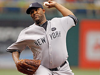 CC Sabathia improves his record against the Royals to 17-10, with 10 wins in Kansas City (Getty Images)