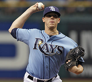 Jeremy Hellickson becomes the first Tampa Bay pitcher to win his first three starts in the majors.  (AP)