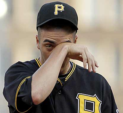 There's no crying in baseball, unless your team has been perennial losers for 18 straight years. (AP)