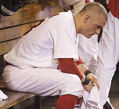 In the midst of their worst losing streak of the season, Brendan Ryan and the Cardinals have fallen steadily in the NL Central. (AP)