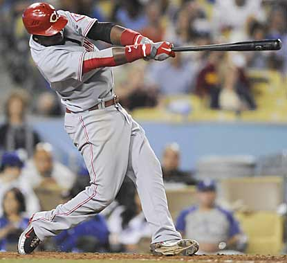 Brandon Phillips comes through for the Reds with three RBI, all of which come during two-out situations. (AP)