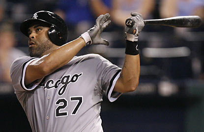 Catcher Ramon Castro gives Chicago the lead in the sixth by drilling a two-run home run. (AP)