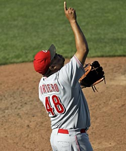 Francisco Cordero's Reds are still looking up after their 6-3 West Coast trip. (AP)