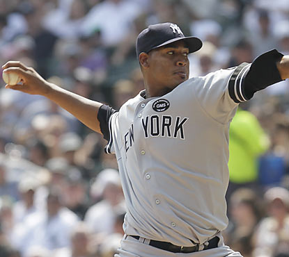 Rookie Ivan Nova picks up his first career win by holding the White Sox to one run through 5 2/3 innings of work.  (AP)