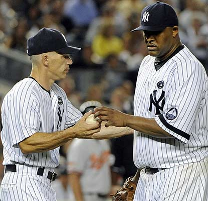 CC Sabathia, who enters 13-1 overall vs. the O's and 16-0 at home since July 2009, doesn't get it done this time. (AP)
