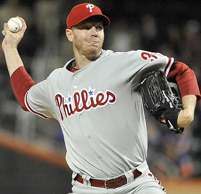 Roy Halladay (18-10) now has the most wins by a Phillie since John Denny won 19 games in 1983. (AP)