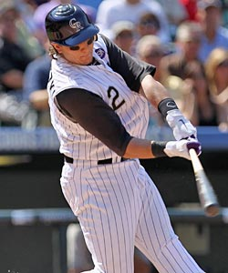 Troy Tulowitzki continues to slug with a hot stick, having hit 11 home runs ... in September. (Getty Images)