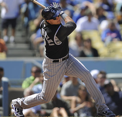 Surging shortstop Troy Tulowitzki is hitting .394 with 35 RBI in 16 games this month for the red-hot Rockies. (AP)