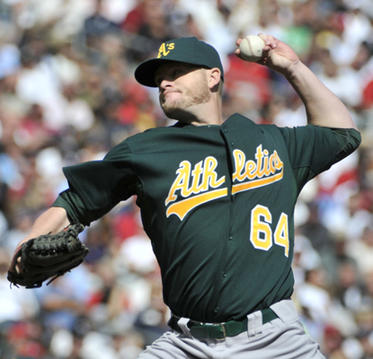 Rookie Bobby Cramer, 30, wins his second consecutive start and helps the Athletics beat the Twins.  (AP)