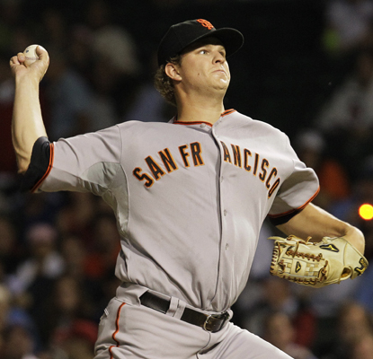 Matt Cain allows two hits in six innings to help the Giants shut out the Cubs.  (AP)