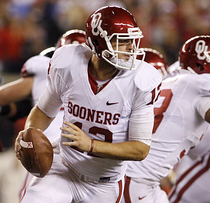 'I felt like every time they made a big play, we came out and answered,' Landry Jones says.  (US Presswire)