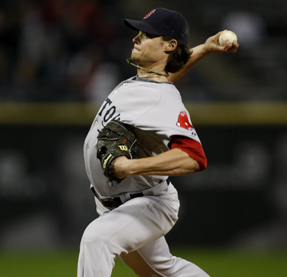 Clay Buchholz pitches eight solid innings to help guide the Red Sox to victory over the White Sox.  (US Presswire)