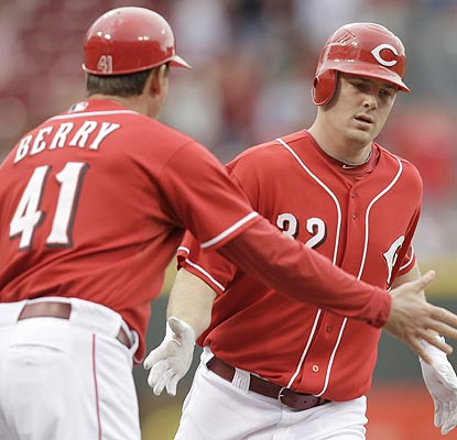 Jay Bruce's tear continues. He hits his 23rd and 24th homers of the year and raises his average to .278. (AP)