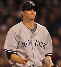The Yankees will be flirting with elimination if they start slumping A.J. Burnett in Game 4. (Getty Images)