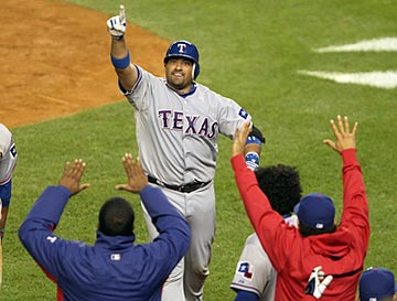 The past two days, Bengie Molina and the Rangers have played like they own Yankee Stadium. (US Presswire)