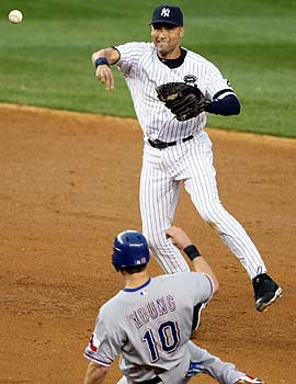 With errors, fielding percentage flawed, Derek Jeter's fifth Gold Glove becomes questionable. (US Presswire)