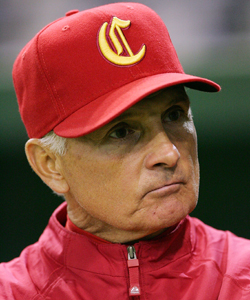 Collins managed China in the 2009 World Baseball Classic. (Getty Images)