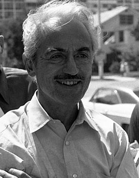 Marvin Miller, pictured in 1976, belongs in the Hall, but some bitter elements are keeping him out. (AP)