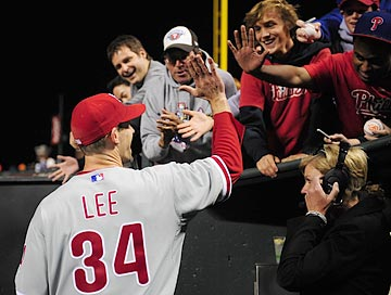 Cliff Lee enjoyed his previous tenure with the Phillies, and their fans certainly will welcome him back. (US Presswire)