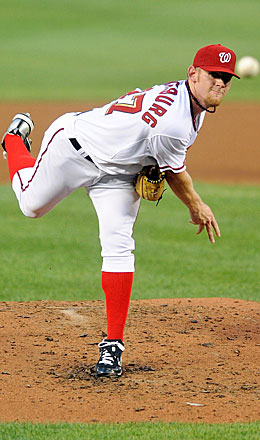 Seeing Stephen Strasburg delivering his nasty stuff is a gift everyone (besides hitters) can enjoy. (Getty Images)