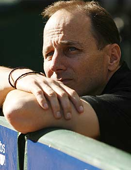 Yankees GM Brian Cashman didn't think it was worth paying closer money for an eighth-inning guy. (US Presswire)