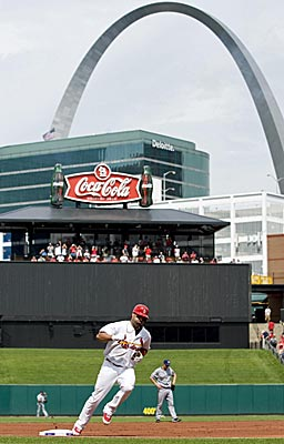 Albert Pujols seems almost as synonymous with St. Louis as the arch. (Getty Images)