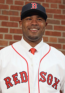 Carl Crawford (pictured) and Adrian Gonzalez are the big Red Sox offseason additions. (Getty Images)
