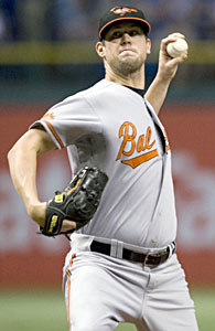 Brian Matusz is part of a young staff that could cause problems for AL East rivals. (US Presswire)